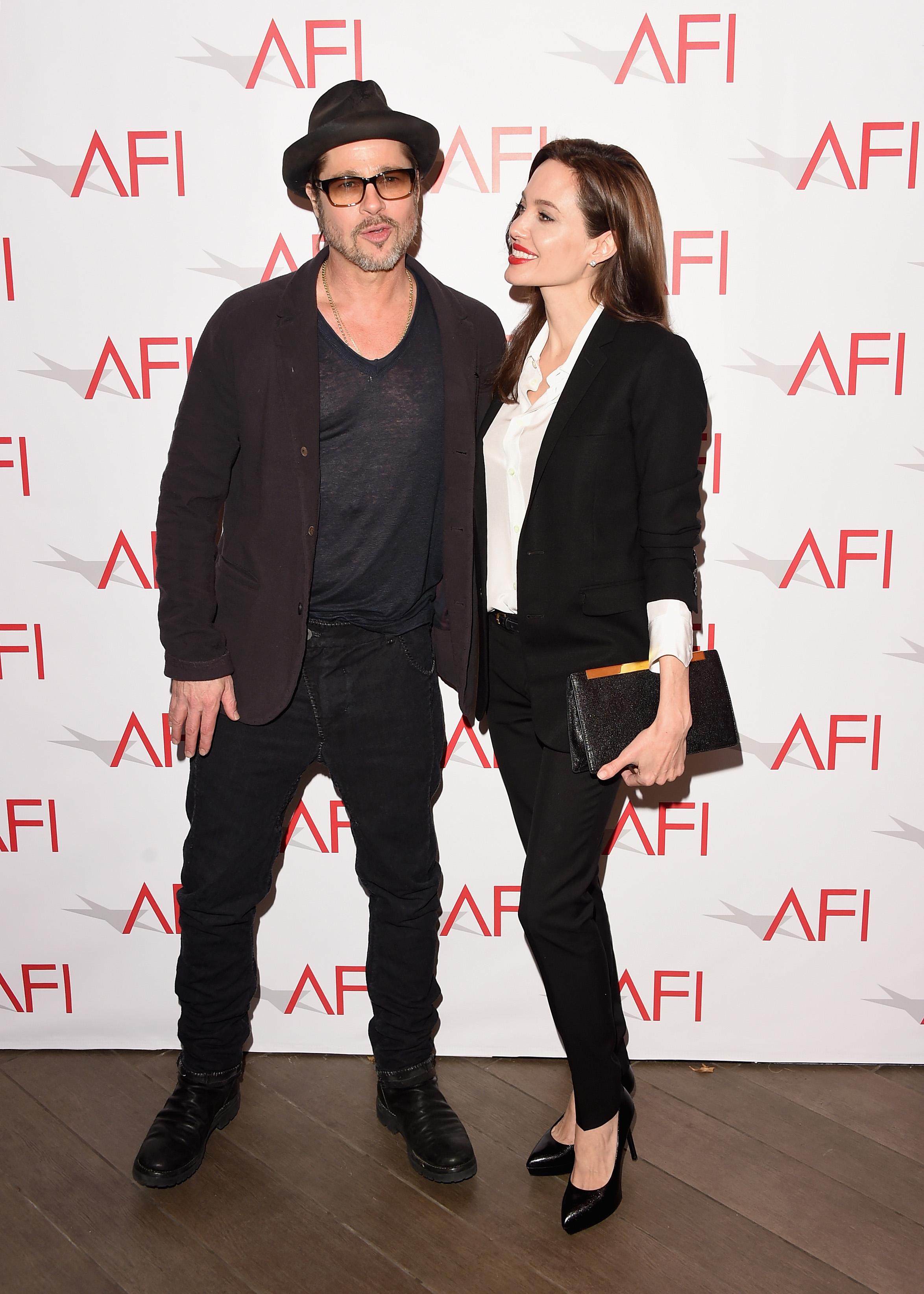 Brad Pitt y Angelina Jolie 8