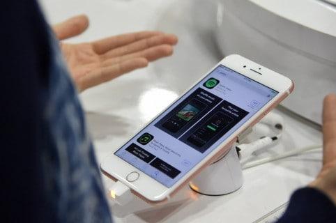 El famoso iPhone 7 de Apple.