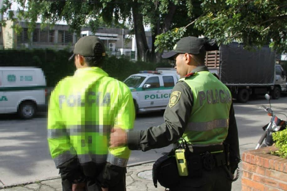 Foto ilustrativa de policía