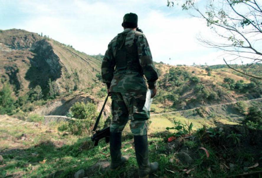 Guerrillero de las Farc en Sumapaz. Pulzo.com