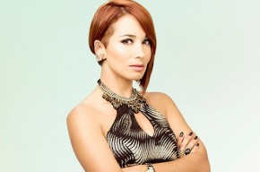 La actriz Majida Issa, 'la Diabla' en 'Sin tetas sí hay paraíso'.
