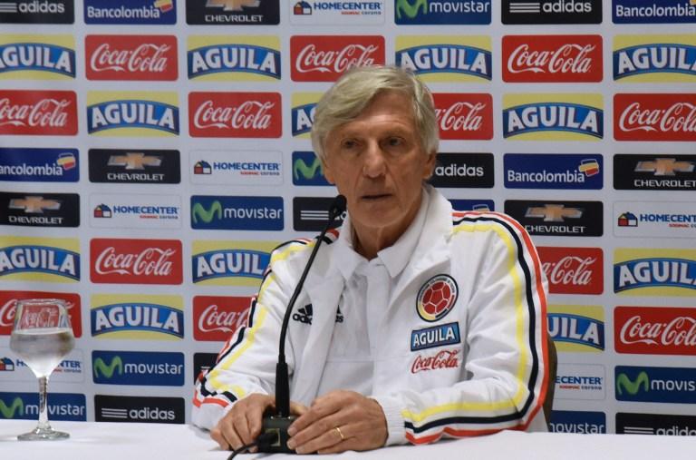 José Pékerman, entrenador de Colombia