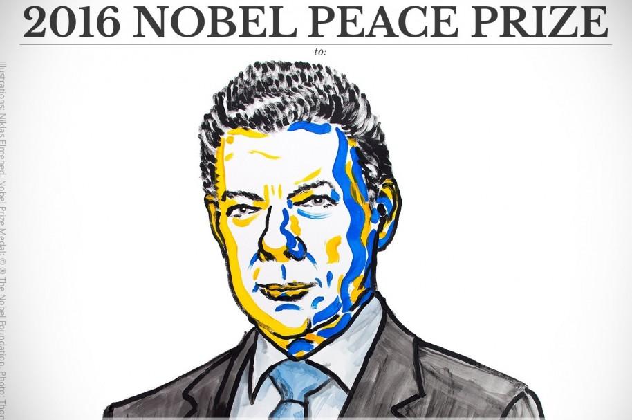 Juan Manuel Santos, premio nobel