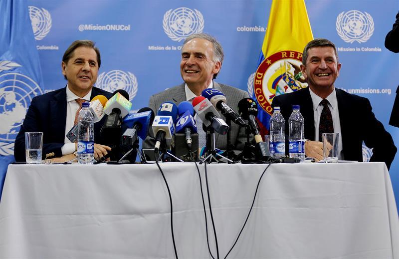 Ampliación de la misión de las Naciones Unidas