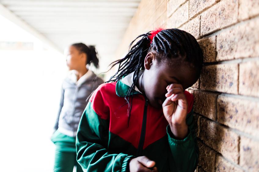 Estudiante víctima de 'bullying'.