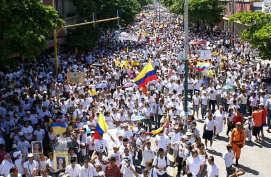 Marcha del silencio por la paz