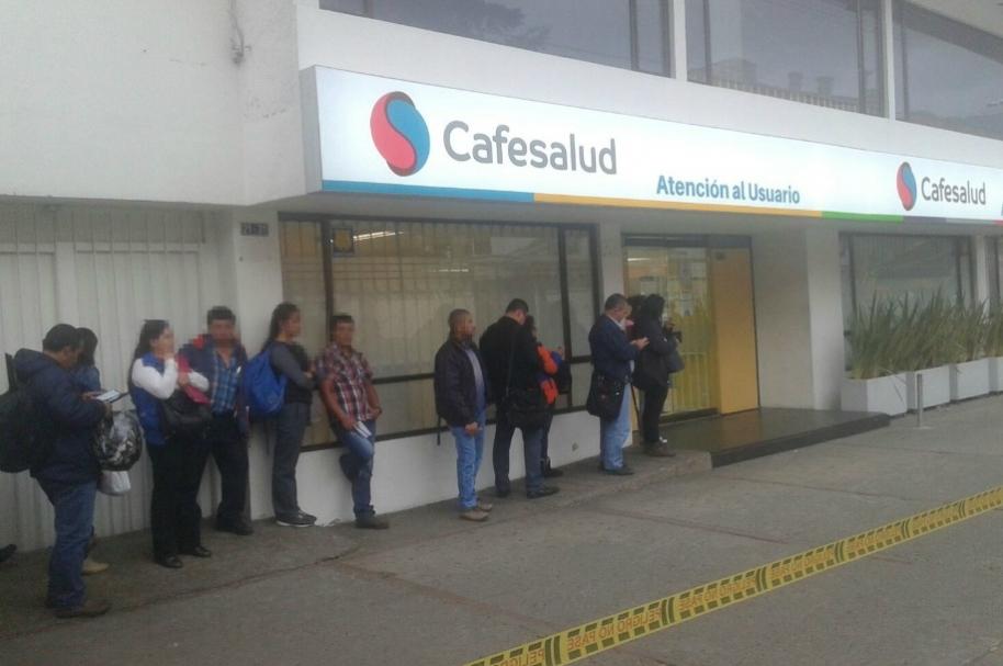 Quejas por servicio en Cafesalud