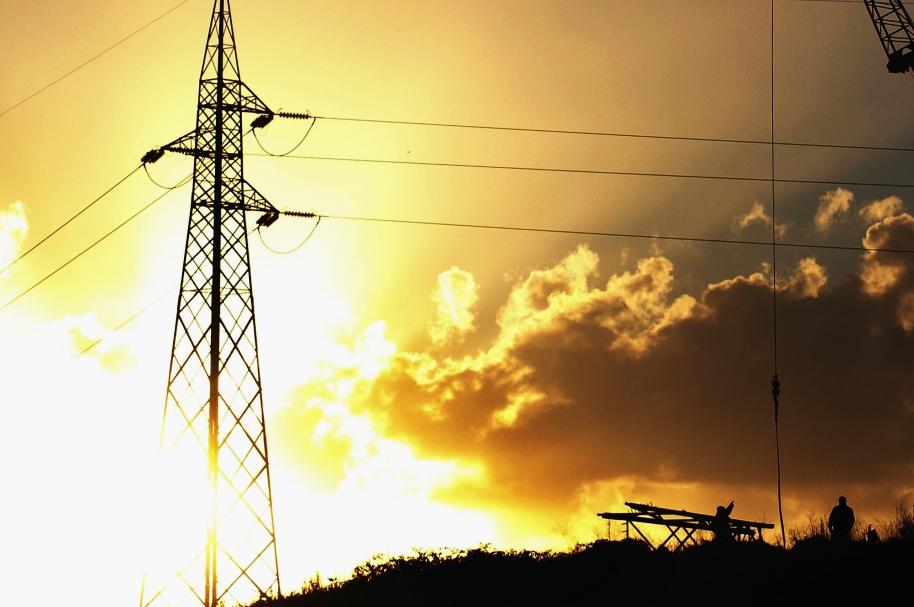 Torre de energía.
