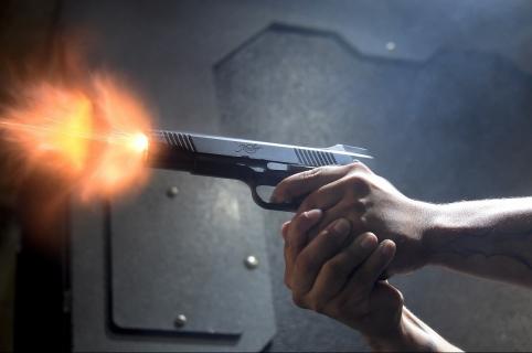 Disparos ilustración