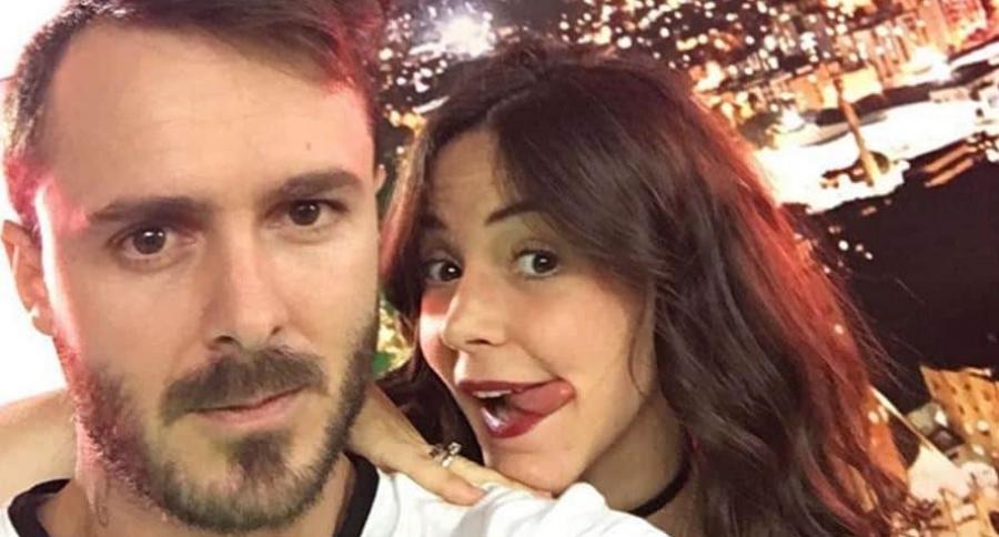La actriz 'Maleja' Restrepo y su esposo, el motocrosista 'Tatán' Mejía.
