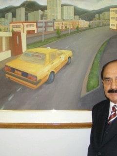 Gerente de Taxis Libres, Uldarico Peña.