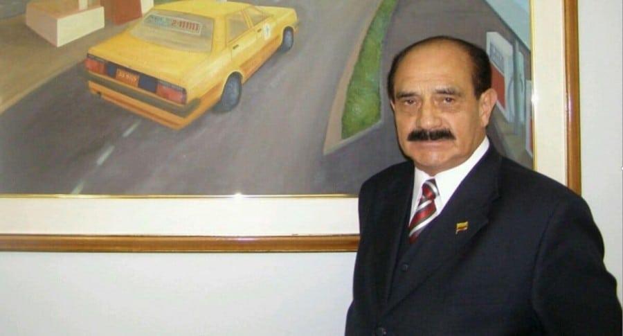 Uldarico Peña, gerente de Taxis Libres