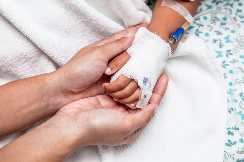 Niña hospitalizada. Pulzo.com