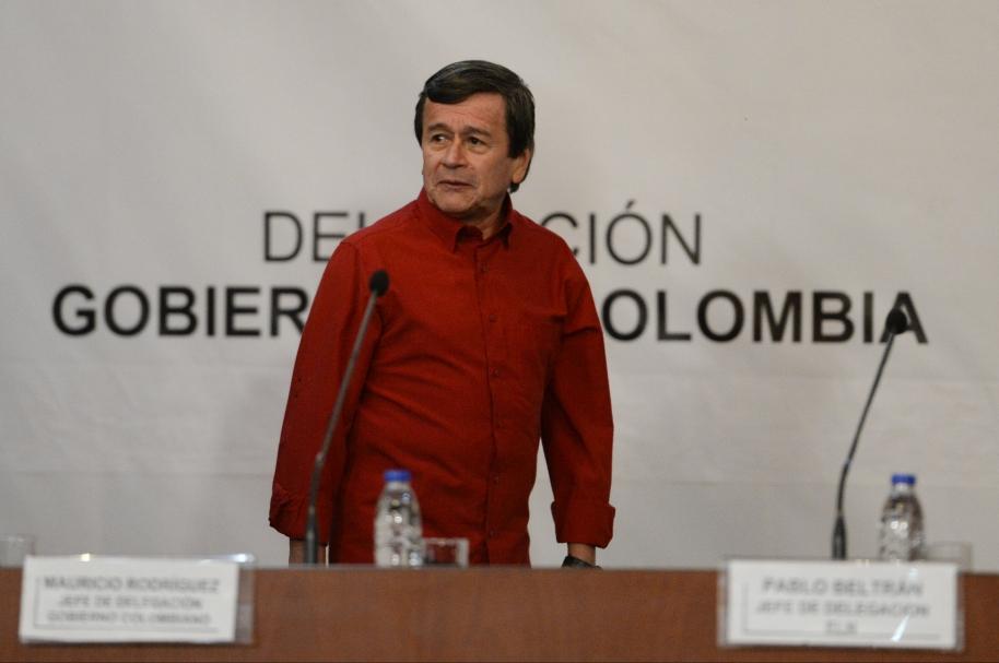'Pablo Beltrán', uno de los negociadores del Eln
