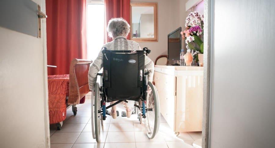 Abuela en Silla de ruedas