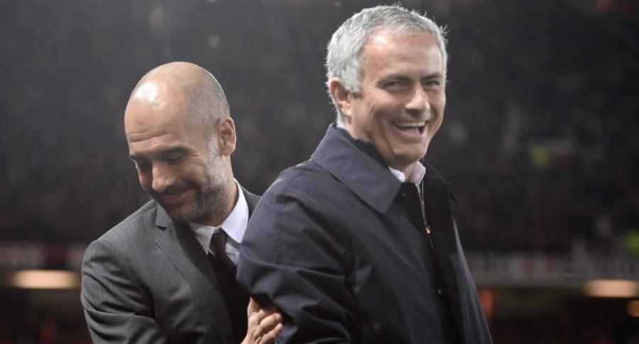 Josep Guardiola y José Mourinho