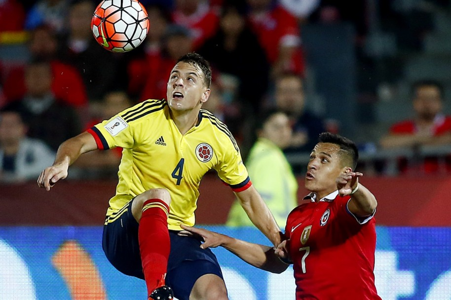 Colombia Chile Getty