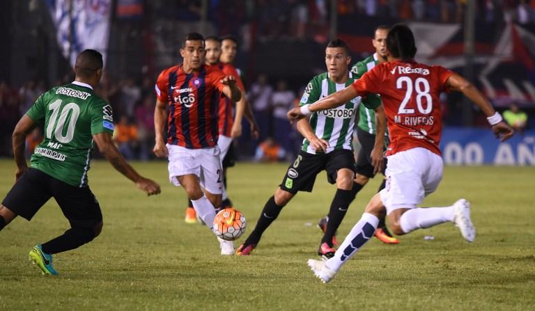Atlético Nacional y Cerro Porteño