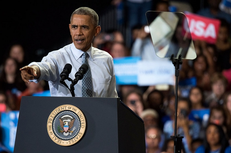 Obama en Ohio.