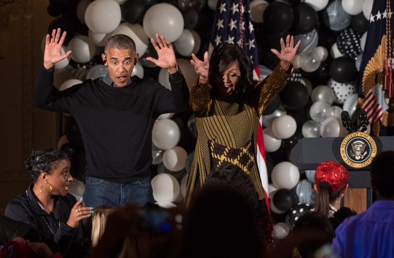 Obama y Michelle Obama bailando 'Thriller'. Pulzo.com