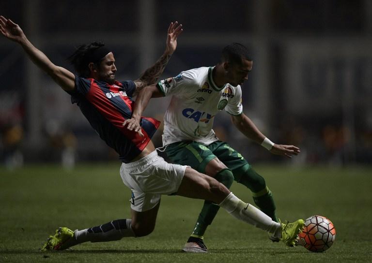 San Lorenzo versus Chapecoense