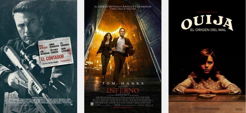 Cartelera cine Colombia