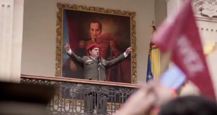 Serie 'El comandante' sobre Hugo Chávez.