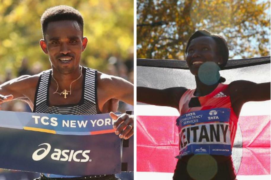 Ganadores Maratón NYC