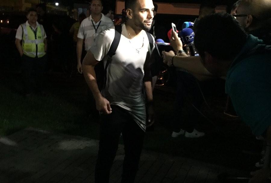 Falcao llega a Barranquilla
