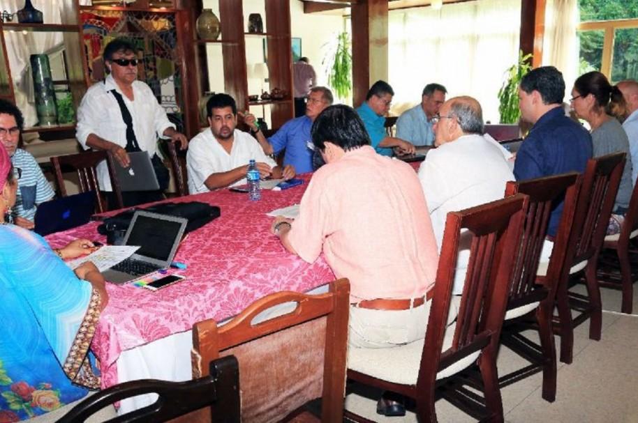Diálogos con las Farc en Cuba