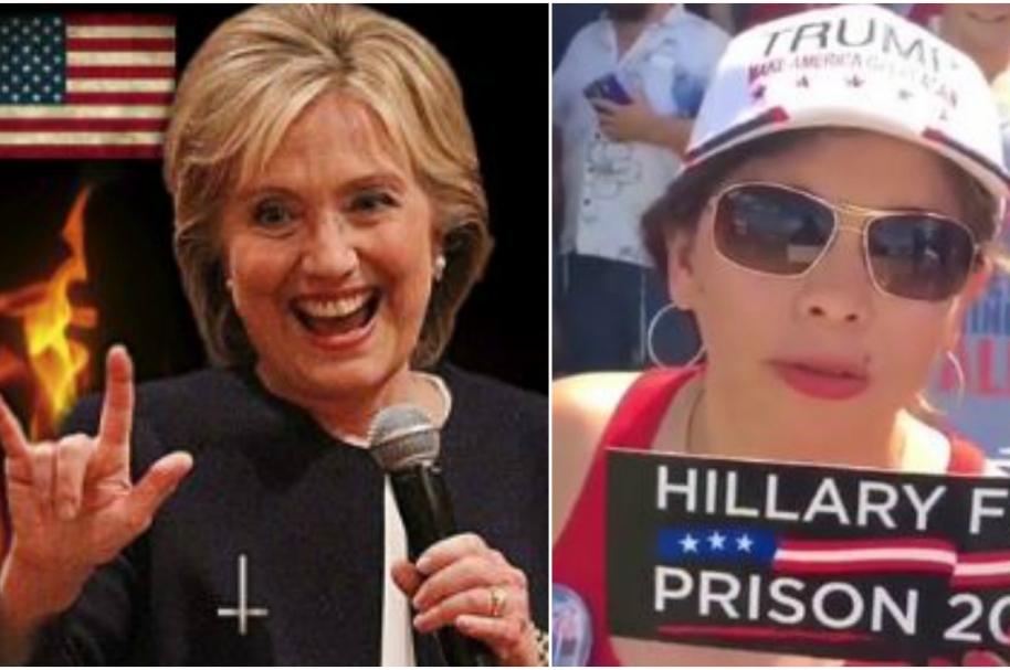 Ataques de colombianos a Hillary