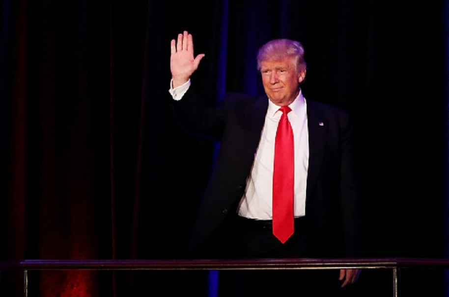 Trump Derecha