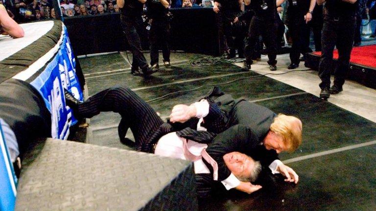 Trump WWE