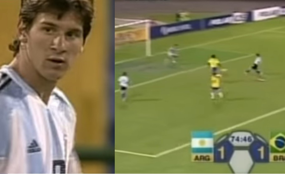 Messi Brasil Argentina