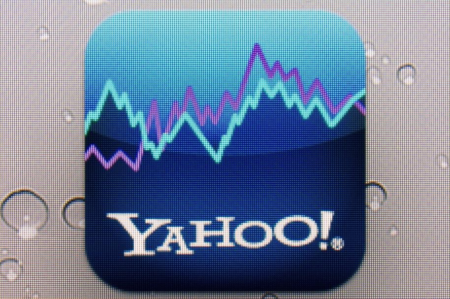 Logo de la aplicación MarketDash de Yahoo!