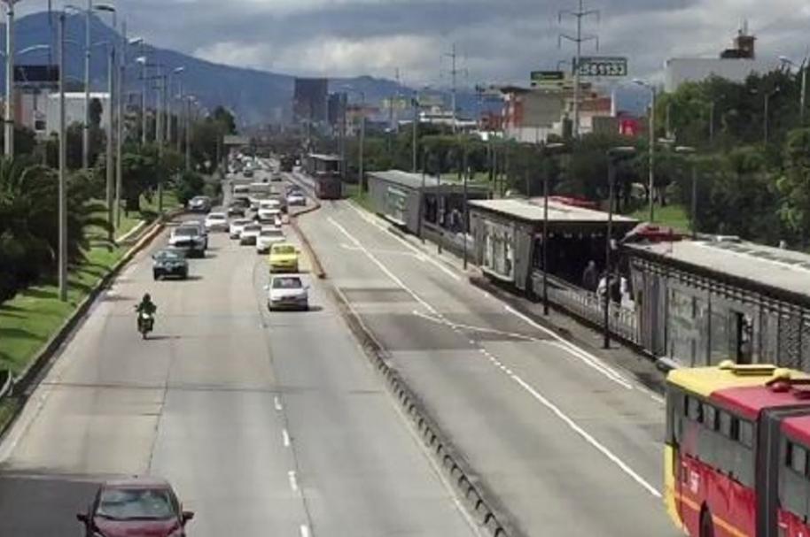 Obra Autopista Norte con calle 146