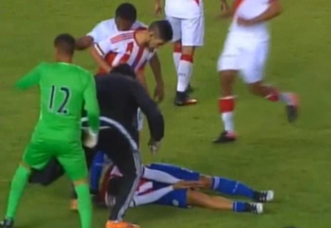 Perú y Paraguay sub-20