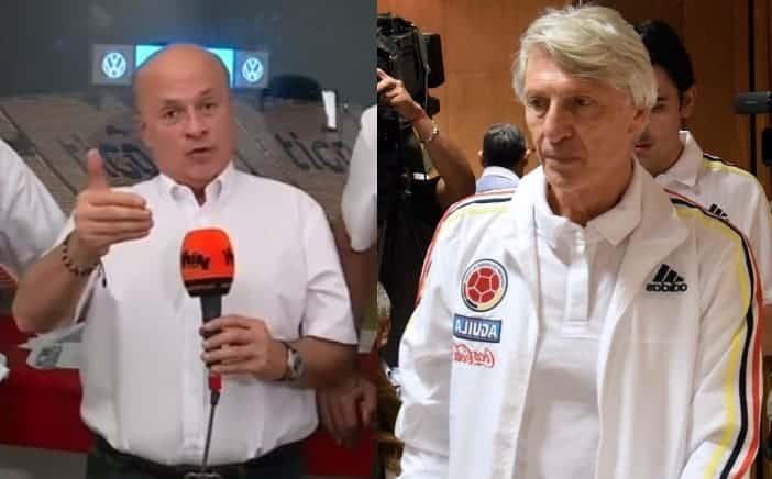 Carlos Antonio Vélez y José Pékerman