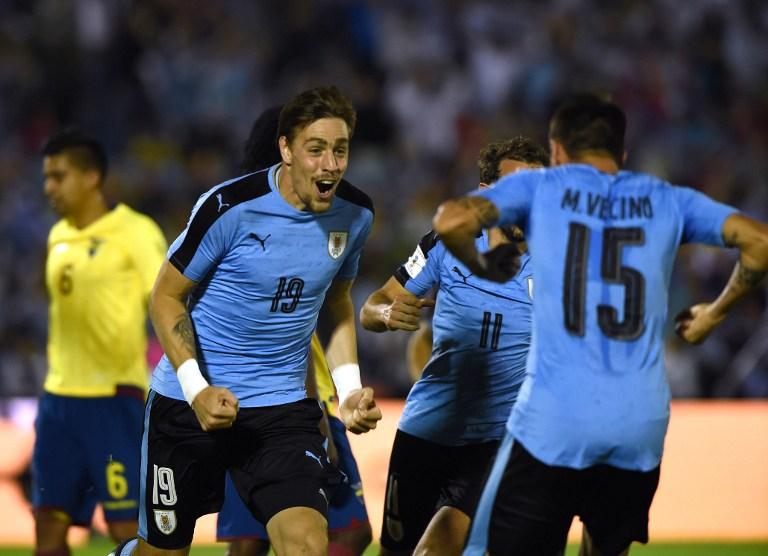 Selección Uruguay AFP
