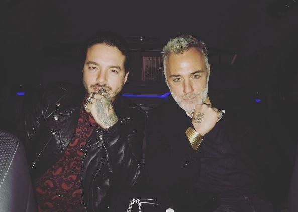 J Balvin y Gianluca Vacchi