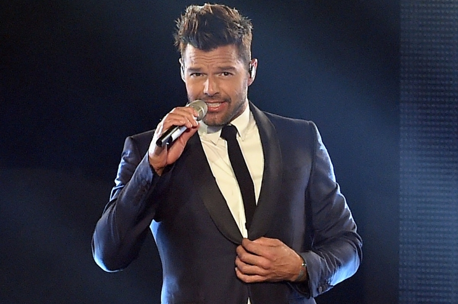 Ricky Martin, cantante.