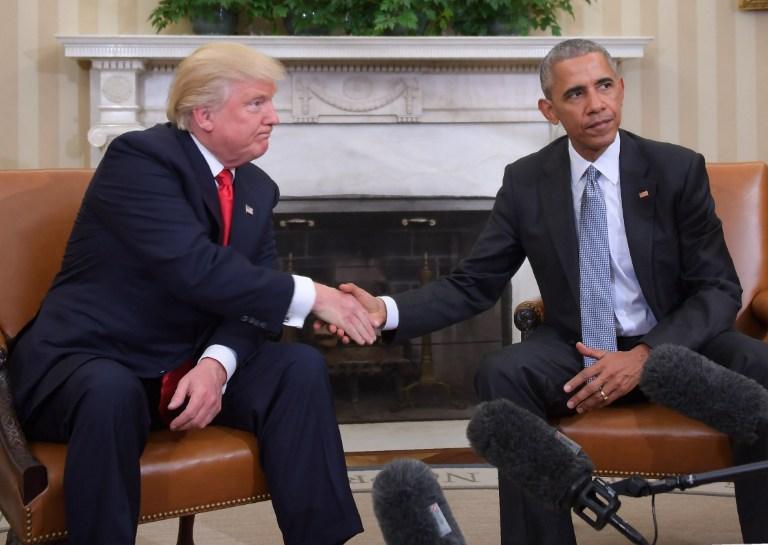Trump y Obama reunidos en la Casa Blanca. Pulzo.com