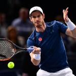 Andy Murray durante un partido contra John Isner, el Masters de París. Pulzo.com