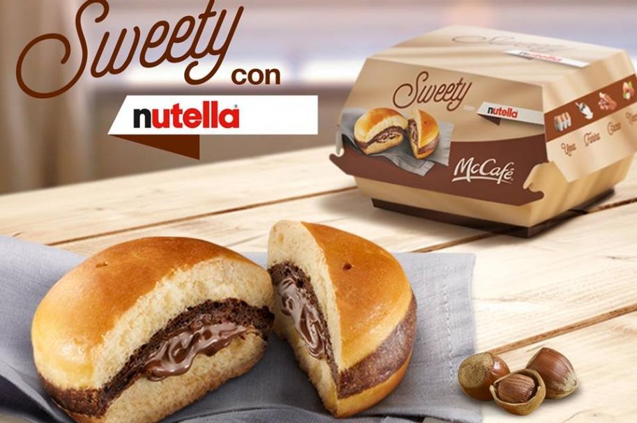 Hamburguesa de Nutella