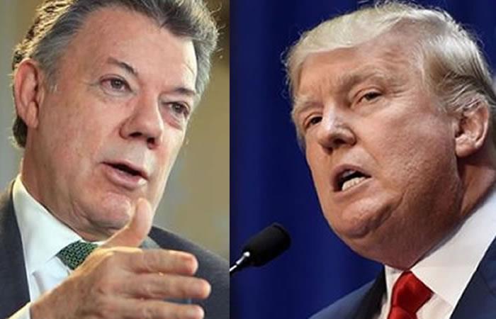 Diálogo Trump Santos