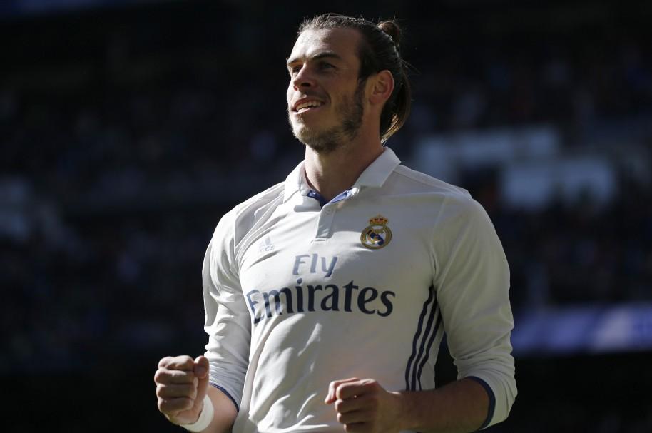 El jugador galés Gareth Bale, con la camiseta habitual del Real Madrid