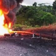 Voladura de oleoducto en Nariño