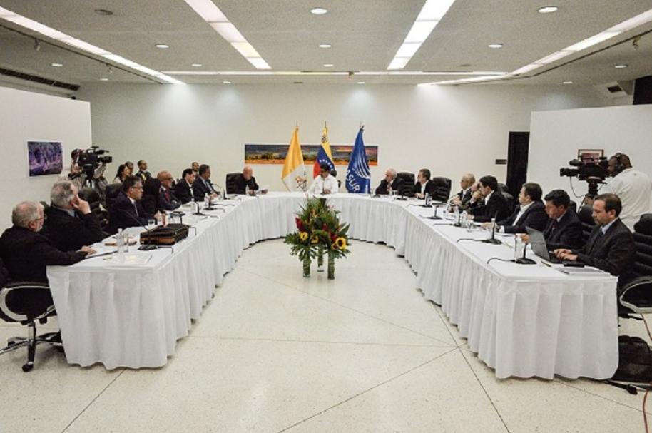 Diálogo en Venezuela.
