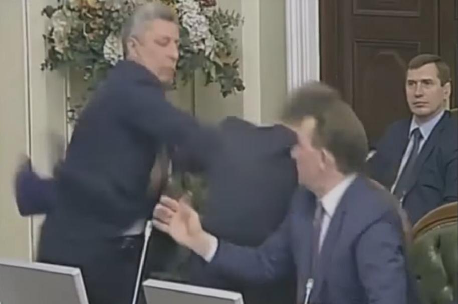 Legisladores ucranianos