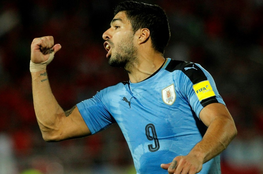 Luis Suarez Chile Uruguay